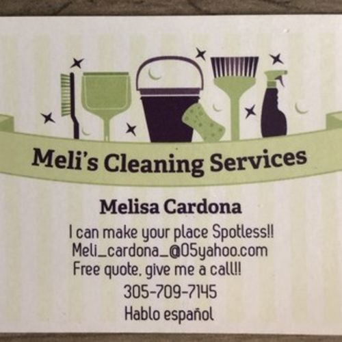 Housekeeper Provider Melisa C's Profile Picture