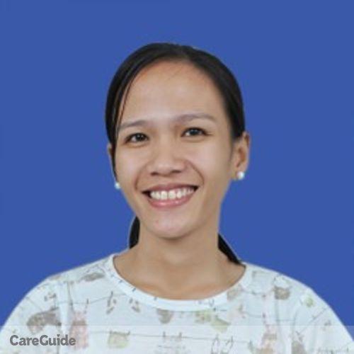 Canadian Nanny Provider Mizpah Grace Fontanilla's Profile Picture
