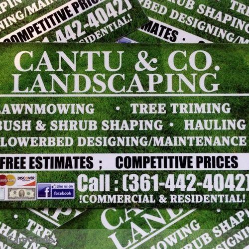 Cantu co landscaping landscaper in corpus christi tx for Landscaping rocks corpus christi