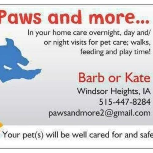 Pet Care Provider Kate R's Profile Picture