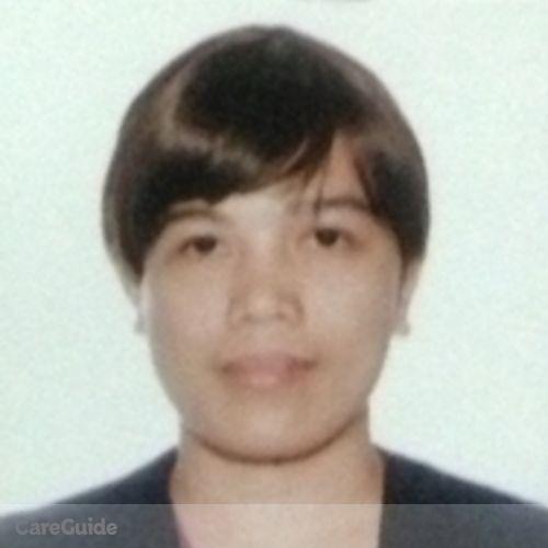 Canadian Nanny Provider Maricel Almendras's Profile Picture