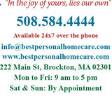 Knowledgeable Elder Care Provider offering home health aide, CNA, Respite Care, Homemaker, Companion and 24-hour live-in aide