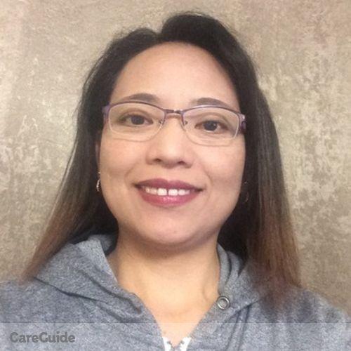 Canadian Nanny Provider Sally Manzano's Profile Picture