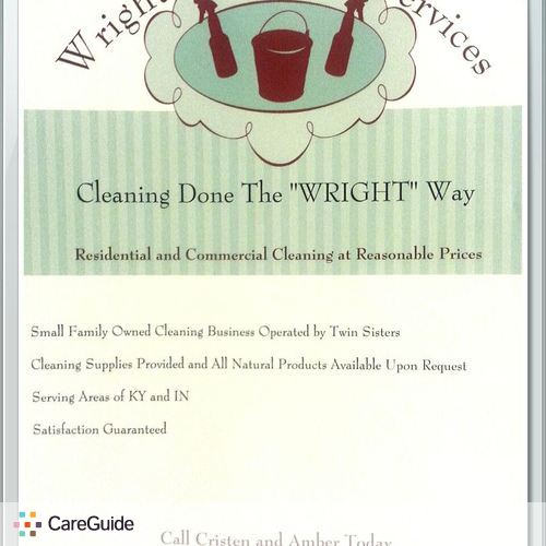 "We Clean Your Home/office The ""Wright"" Way!"