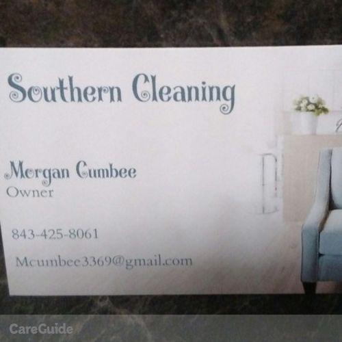 Housekeeper Provider Morgan Cumbee's Profile Picture