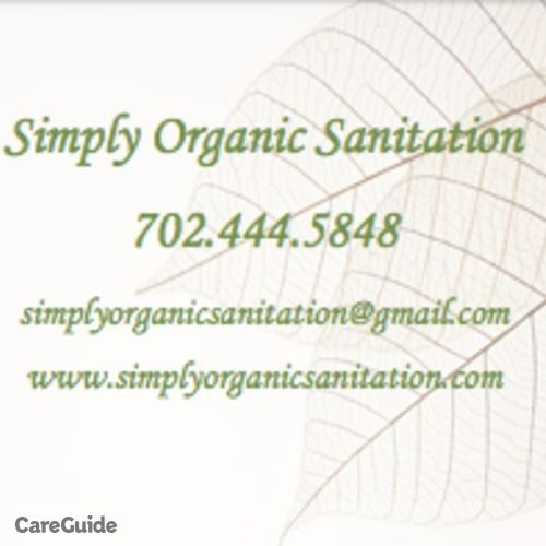 Housekeeper Provider Simply Organic Sanitation's Profile Picture