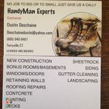 No job to big or to small just give us a call