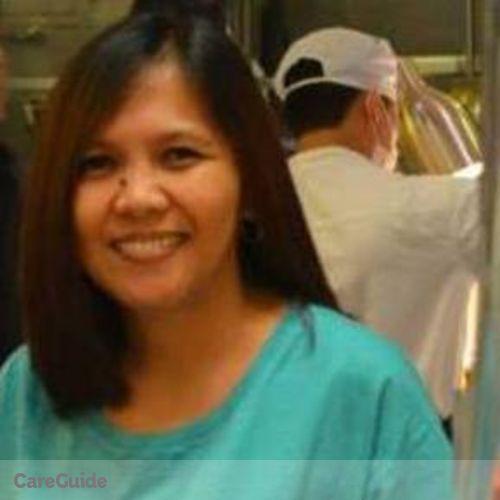 Canadian Nanny Provider Arlene Oliva's Profile Picture