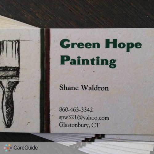 Painter Provider Shane W's Profile Picture