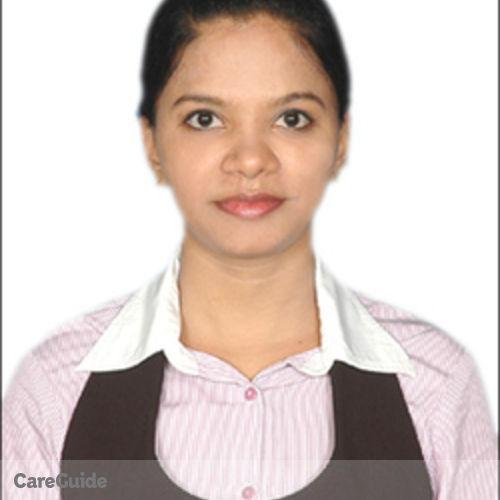 Canadian Nanny Provider Malathi Sekar's Profile Picture