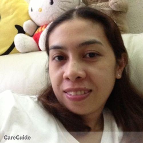 Canadian Nanny Provider Vergie Anonuevo's Profile Picture