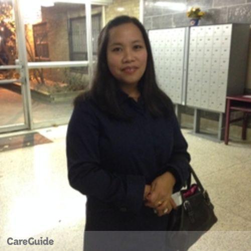 Canadian Nanny Provider Vanessa Padua's Profile Picture