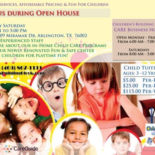 Child Care Provider Childrens Building B's Profile Picture