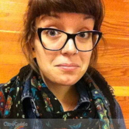 Canadian Nanny Provider Camille Brisson's Profile Picture