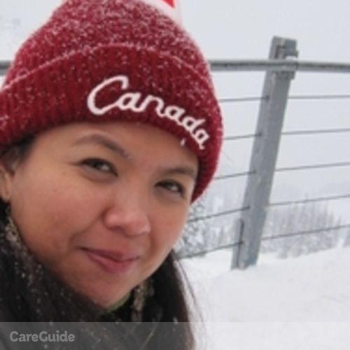 Canadian Nanny Provider Maritess Lazaro's Profile Picture