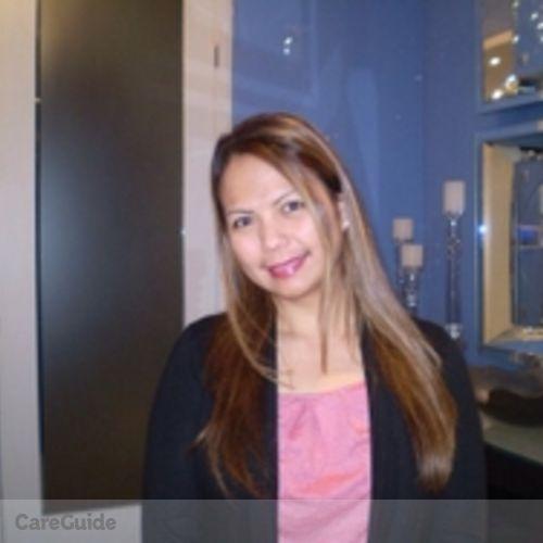 Canadian Nanny Provider Arlene Villanueva's Profile Picture