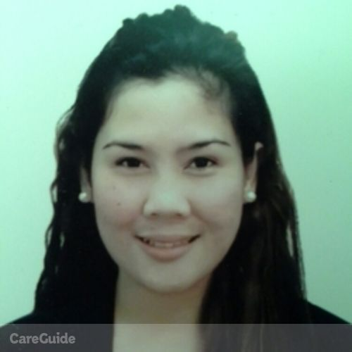 Canadian Nanny Provider Ronalyn N's Profile Picture