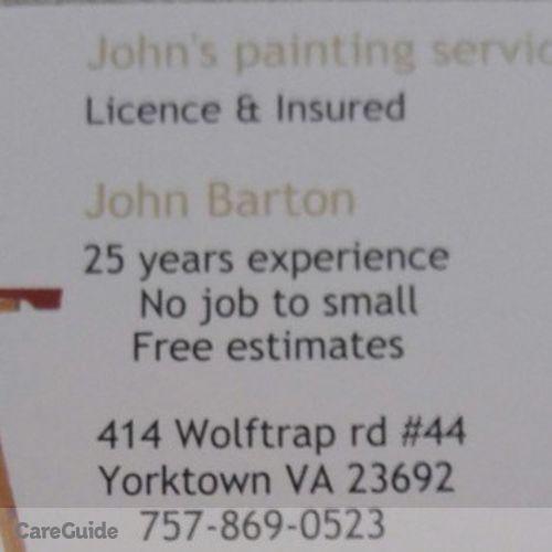 Painter Provider John Barton's Profile Picture