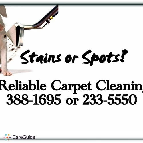 Housekeeper Provider Reliable Carpet Cleaning Reliable Carpet Cleaning's Profile Picture