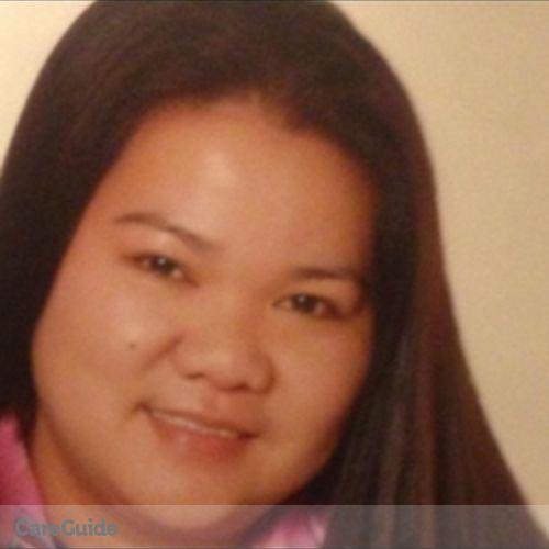 Canadian Nanny Provider Sheila Aquino's Profile Picture