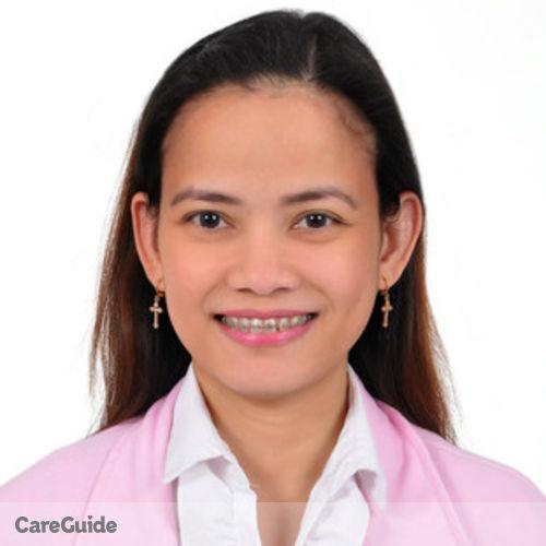 Canadian Nanny Provider Maricor Chulvo's Profile Picture
