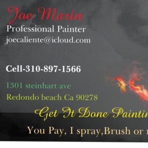Painter Provider Joe Marin's Profile Picture