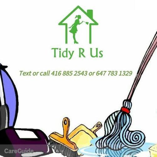 Housekeeper Provider Tidy R Us's Profile Picture