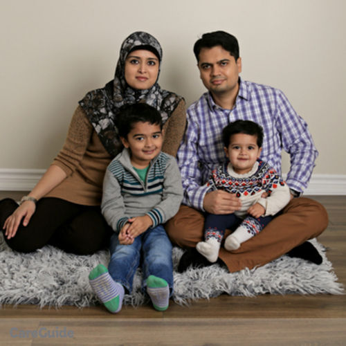 Canadian Nanny Job Afsheen Mazhar's Profile Picture