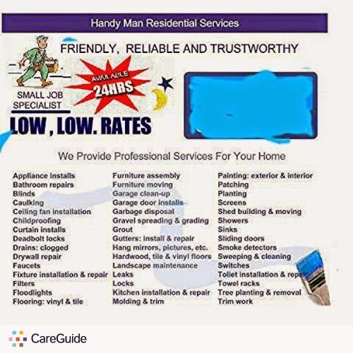 Handyman Provider Brian716 A's Profile Picture
