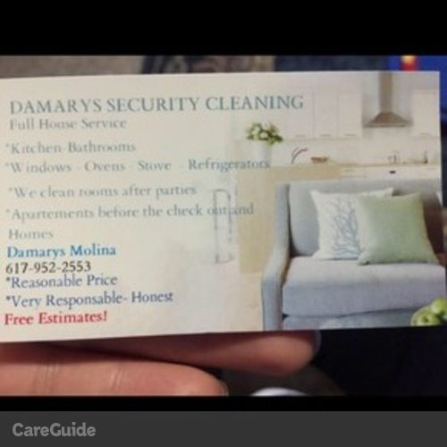 Housekeeper Provider Damary Molina's Profile Picture