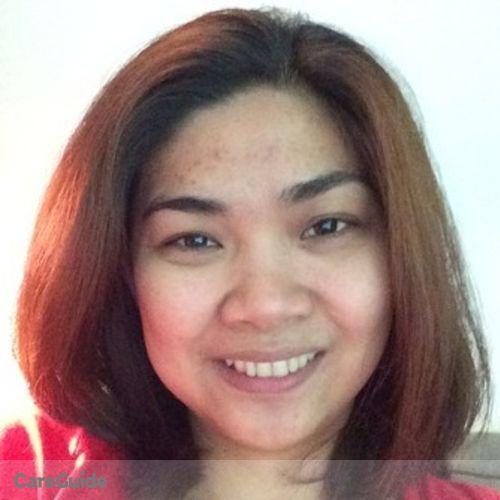 Canadian Nanny Provider Ann Ubaldo's Profile Picture