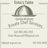 Welcome to Eshas Table! My name is Chef Ayesha Esha McGaney