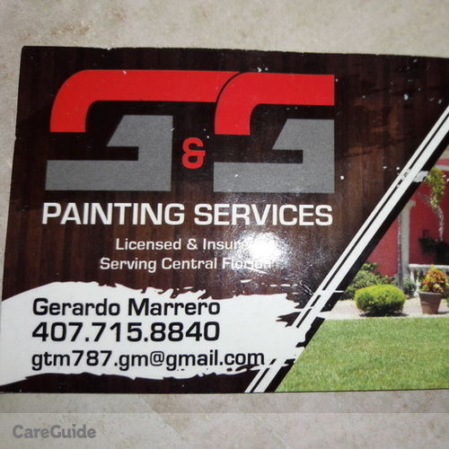 Painter Provider Gerardo Marrero's Profile Picture