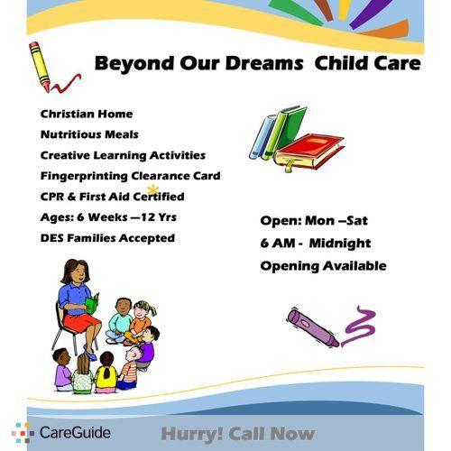 Child Care Provider Olivia Darling's Profile Picture