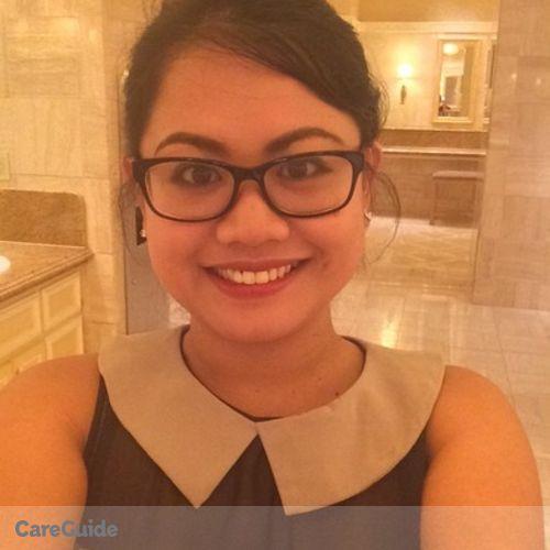 Canadian Nanny Provider Jennylin Baloran's Profile Picture