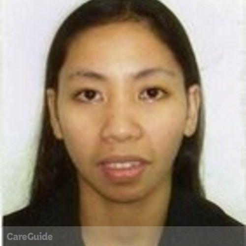 Canadian Nanny Provider Lourdes Sheila Capistrano's Profile Picture