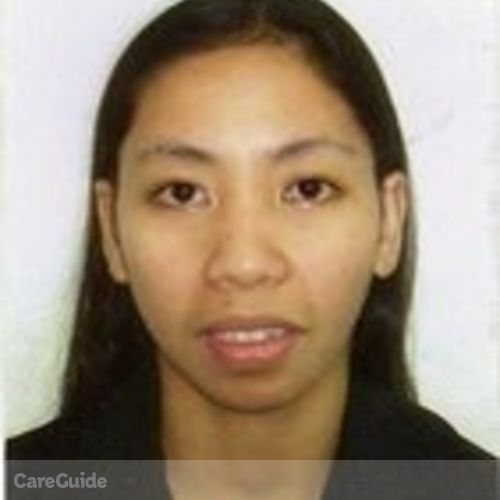 Canadian Nanny Provider Lourdes Sheila C's Profile Picture