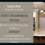 Candis housekeeping where cleaning is sweet