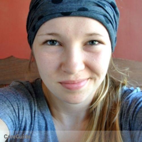 Canadian Nanny Provider Morgan Braun's Profile Picture
