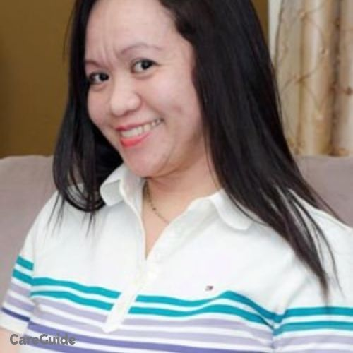 Canadian Nanny Provider Marinel Malabanan's Profile Picture