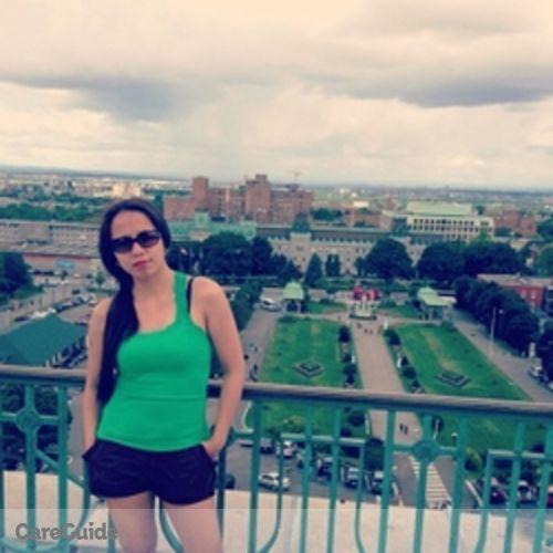 Canadian Nanny Provider Glenda F's Profile Picture