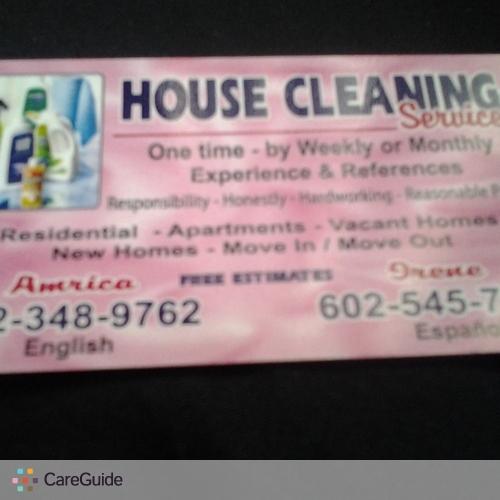 Housekeeper Provider America Velez's Profile Picture