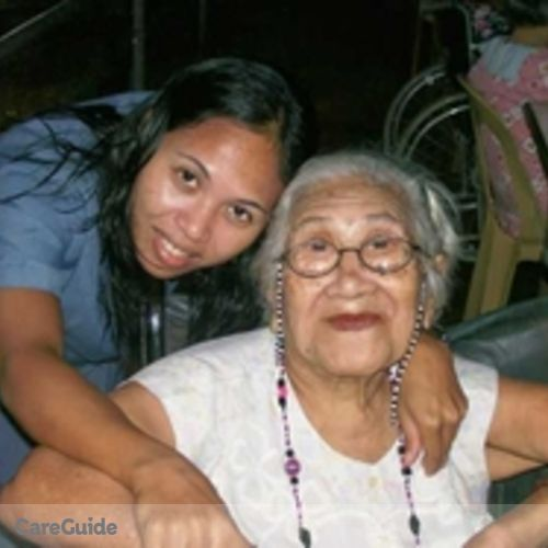 Canadian Nanny Provider Marites Caro B.'s Profile Picture