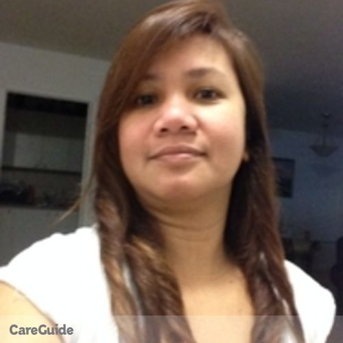 Canadian Nanny Provider Grace Prado's Profile Picture