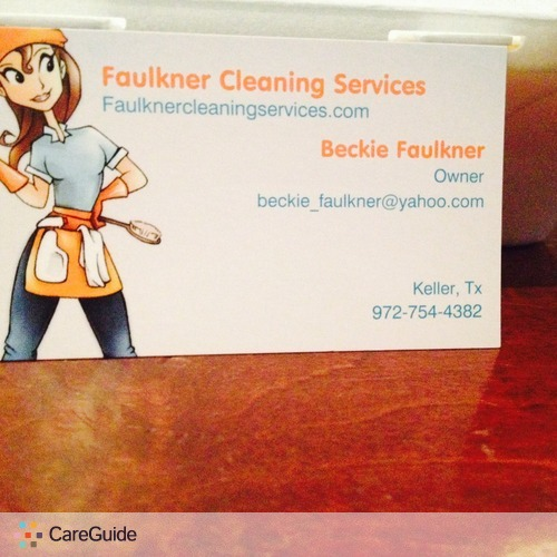 Housekeeper Provider Beckie Faulkner's Profile Picture
