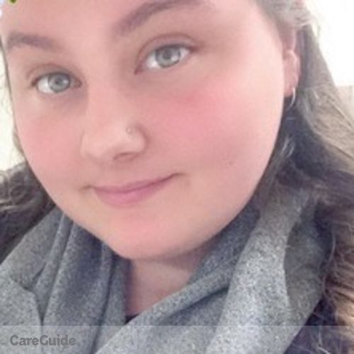 Canadian Nanny Provider Cassidy Sheridan's Profile Picture