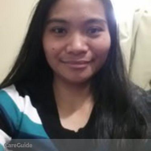 Canadian Nanny Provider Marizone Baniaga's Profile Picture