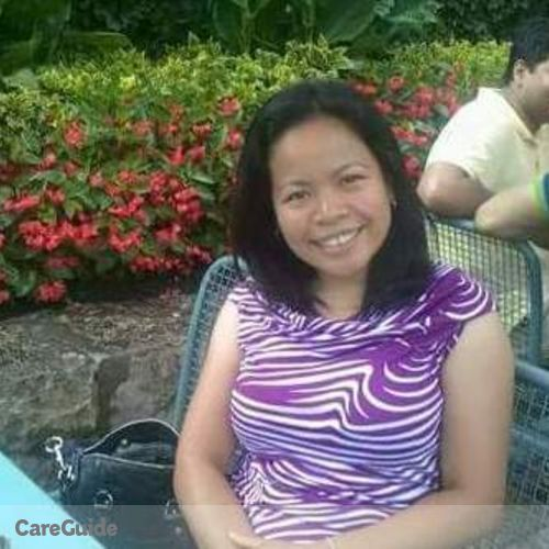 "Canadian Nanny Provider Lovelyn ""lhyn"" Cadang's Profile Picture"