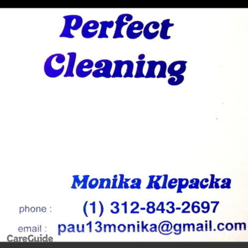 Housekeeper Provider Monika Perfect Cleaning's Profile Picture