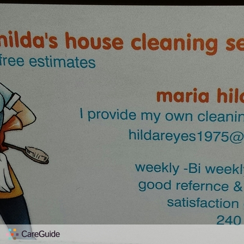 Housekeeper Provider Hilda R's Profile Picture